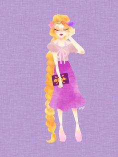 Modern Princess Disney, Rapunzel