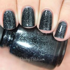 China Glaze Meet Me Under The Stars | Holiday 2014 Twinkle Collection | Peachy Polish