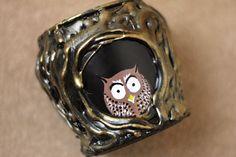 DIY: Owl Jar with video tutorial Pinned by www.myowlbarn.com