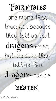 Fairy Tales and Inner Dragons
