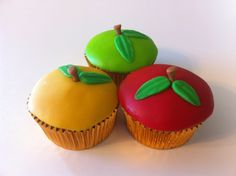 Edible Creations Apple Cupcakes Check us out on Face Book @ Angela Ediblecreations