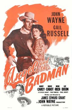 """CAST: John Wayne, Gail Russell, Harry Carey, Bruce Cabot, Irene Rich, Lee Dixon, Stephen Grant; DIRECTED BY: James Edward Grant; PRODUCER: John Wayne; Features: - 11"""" x 17"""" - Packaged with care - ship"""