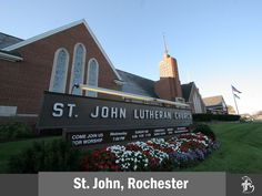 St. John Lutheran Church in Rochester, Michigan and my school from 1st until 8th Grade