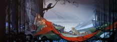 Banner Saga is one of the most beautiful games I've ever played.  I can't recommend it highly enough.  Wish there were more art prints available to buy!