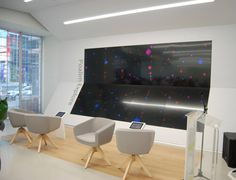 Arca Chairs at bank in TelAviv - by True design - @products4people