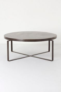 Blacksmith Coffee Table #anthropologie @Corrine Majoros, I loooooove this one!