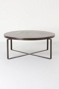 Blacksmith Coffee Table #anthropologie @Corrine Majoros, I loooooove this one!