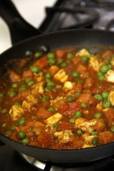 A healthier version of chicken vindaloo