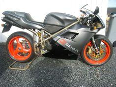 916 Senna 1 . 212 For Sale (1997) UK Ducati 916, Motorcycle, Bike, Cars, Bicycle, Trial Bike, Autos, Biking, Vehicles