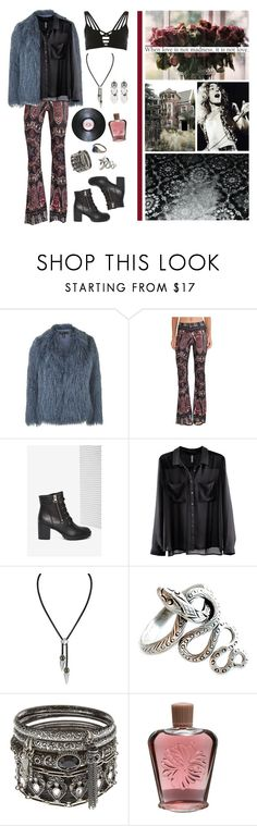 """""""I'm gonna give you more..."""" by vannyroxx ❤ liked on Polyvore featuring Topshop, Novella Royale, Steve Madden, H&M, Majorica, Paul & Joe, River Island and vintage"""
