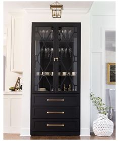 Built In Cabinets, Diy Cabinets, Custom Cabinets, Storage Cabinets, Kitchen Storage, China Cabinets, China Cabinet Decor, Kitchen Built Ins, Kitchen Organisation
