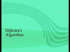 Finding the shortest path using Dijkstra's Algorithm