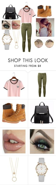 """""""Happy Sunday!!!"""" by hilowitzkier on Polyvore featuring Current/Elliott, Timberland and Kate Spade"""