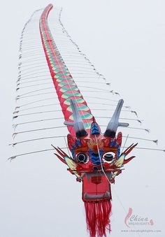 Kite construction consists of three parts: framing, or the preparation and binding together of the bamboo ribs that will constitute the kite's frame, gluing and decoration.