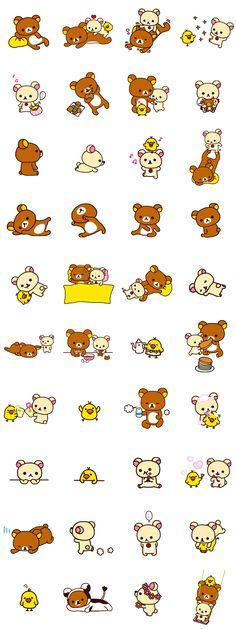 画像 - Rilakkuma: Good Friends by Imagineer Co.,Ltd. / San-X Co., Ltd. - Line.me