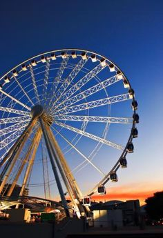 For a different perspective of the city and Brisbane River, take a ride on the Wheel of Brisbane - South Bank, Brisbane, QLD.