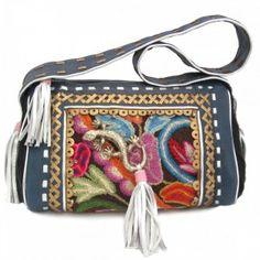 handmade hippie leather handbag