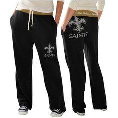 New Orleans Saints Ladies Recruit Fleece Pants – Black