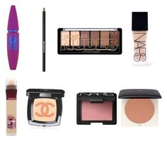 """""""My daily makeup"""" by rlightfoot ❤ liked on Polyvore featuring beauty, Maybelline, Lancôme, NARS Cosmetics, Chanel and H&M"""