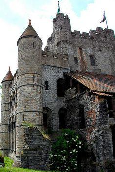 Gravensteen Castle, Gent, Belgium