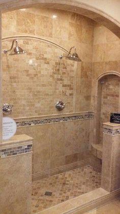 Unique Bathroom Tiles Ideas (Show Your Personality!) - /design Unique Bathroom Tiles Ideas (Show Your Personality! Rustic Bathroom Designs, Rustic Bathrooms, Dream Bathrooms, Beautiful Bathrooms, Bathroom Interior Design, Marble Bathrooms, Bathroom Mirrors, Hotel Bathrooms, Bathrooms Decor