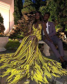 Source by atelierlacoutur dresses black girls slay yellow Black Girl Prom Dresses, African Prom Dresses, African Dress, Homecoming Dresses, Girls Dresses, Elegant Dresses, Cute Dresses, Beautiful Dresses, Sexy Dresses
