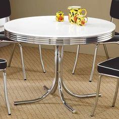 Wade Logan® Robert Retro Dining Table