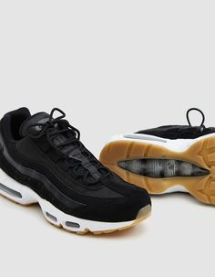 046e29e363 Air Max 95 Premium Sneaker in Black. Air Max 95Nike ...