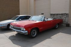 1965 Chevrolet Impala SS convertible with number matching 327V8 for sale.