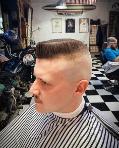 Summer Haircuts, Cool Haircuts, Haircuts For Men, Men's Haircuts, Flat Top Haircut, Barber Shop, Short Hair Cuts, Fashion Looks, Handsome