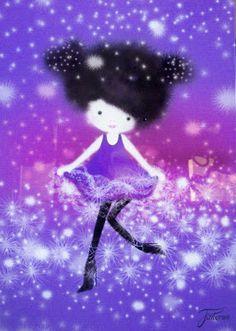 Dancing Girl Plexi lamp for kids