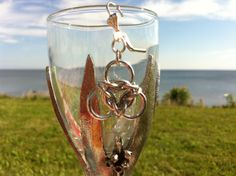 Something I made at the beach. Flute, Champagne, Jewelry Design, Create, Tableware, Beach, Dinnerware, The Beach, Flute Instrument