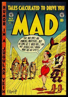 mad covers kurtzman | Hey Look! (in color) and MAD Covers > Harvey Kurtzman