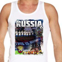 #Euro2016 #RUSSIA #ThisisRussia #SergeiIgnashevich #AleksandrKerzhakov #EUFA #EUFA16 #PES #Football #Sports #Championship #European #Season2016 #vest #tanktop Vests, Euro, Russia, Champion, Tank Man, Football, Tank Tops, Sports, Men