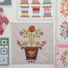 MessyJesse - a quilt blog by Jessie Fincham: Pour l'Amour du Fil 2015 | Quilt Show | Part 2: Workshops with Willyne Hammerstein & Irene Blanck