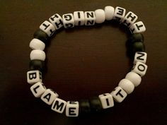 Blame It On The Night Kandi Bracelet by KandilandUSA on Etsy