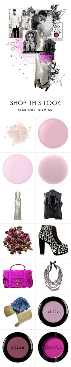 """""""Cindy Crawford"""" by innety ❤ liked on Polyvore featuring Polaroid, Essie, RGB, Marc Jacobs, Jeffrey Campbell, Proenza Schouler, Vera Wang, Stila and blacklUp"""