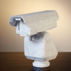 Ai Wei Wei, marble surveillance camera, b. 1957, Beijing, China