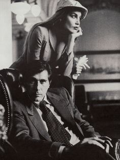 Bryan Ferry and Jerry Hall. Before Mick Jagger .....