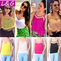 nova 2014 moda tops mulheres venda quente slim backless chiffon colete primavera safra de verão blusa top camisola sexy venda 21069 12.49