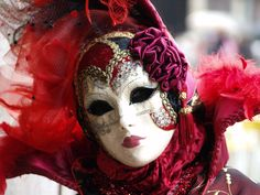 Traditional Venetian masks worn at the Carnival of Venice in Venice, Italy. Description from pinterest.com. I searched for this on bing.com/images