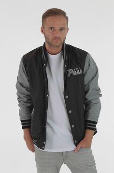 Obey Throwback takki Black/Grey 119,00 € www.dropinmarket.com