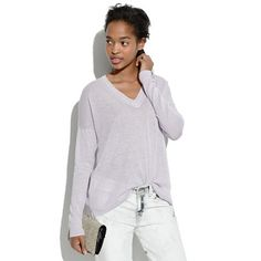 Madewell - Longview V-Neck Sweater