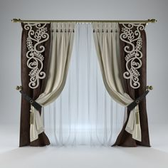 1 million+ Stunning Free Images to Use Anywhere Double Rod Curtains, Luxury Curtains, Home Curtains, Window Curtains, Classic Curtains, Elegant Curtains, Shabby Chic Curtains, Wooden Front Door Design, Rideaux Design