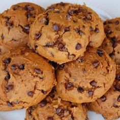 Skinny Pumpkin Chocolate Chip Cookies – Healthy Recipes