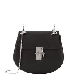 Chloé Small Drew Shoulder Bag in Black   Harrods