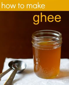 How to Make Ghee. Read the recipe, it's just what we in the food industry call clarified butter. No milk solids.