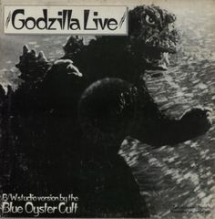 Blue-Oyster-Cult-Godzilla-Live-USA-12-vinyl-single-record-Maxi-promo-AS447 Blue Oyster Cult, 80s Rock, Back In The Day, Godzilla, Orchestra, Album Covers, Pony, Blues, Archive