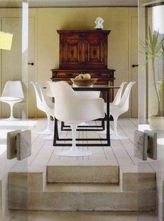 45 fantastiche immagini su mix classico e moderno | Dining room ...
