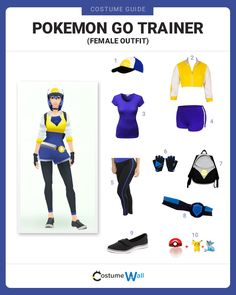 While playing Pokemon Go, dress up just like the female Pokemon Trainer from the game.